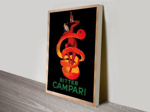 Leonetto Cappiello Bitter Campari Canvas Print