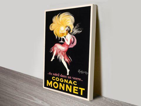Leonetto Cappiello Cognac Monnet Canvas Art Print