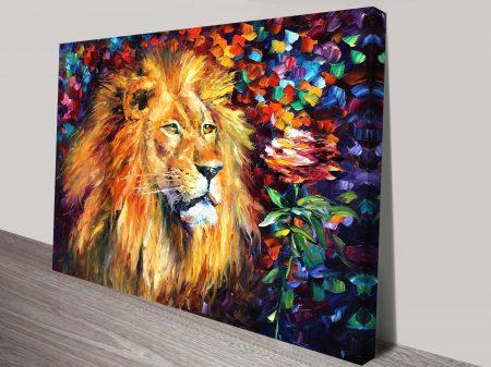 Lion of Zion Leonid Afremov Wall Art