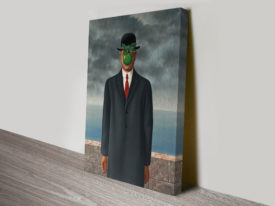 Magritte Son of Man Canvas Print