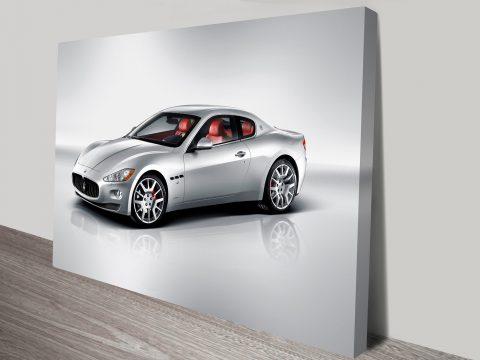 Maserati Gran Turismo Ready to Hang Artwork