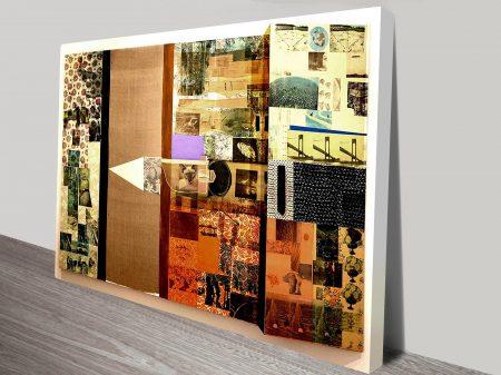 Melic Meeting Robert Rauschenberg Vintage Pop Art