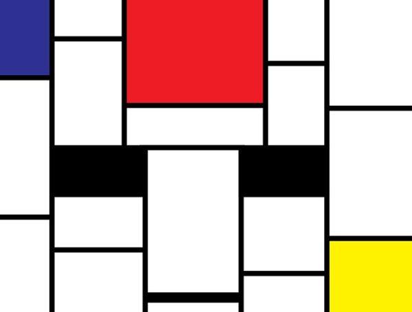 Piet Mondrian Wall Art Prints on Canvas