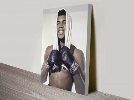 Buy Muhammad Ali Pop Art Canvas Print Online Australia