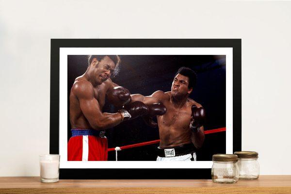 Muhammad Ali Knockout Boxing Pop Art