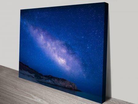 Night Sky Stars Wall Art Printing Brisbane