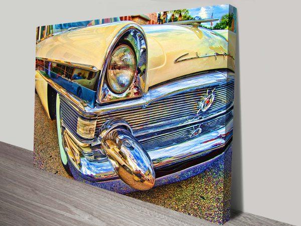 Packard Clipper Old Car Canvas Print