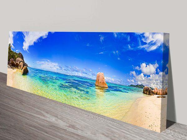 tropical-Paradise panoramic wall art