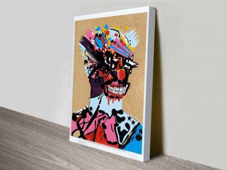 Killer Clown Modern Street Art