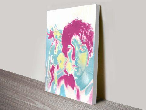 The Beatles Warhol Pop Art Canvas for Sale Online