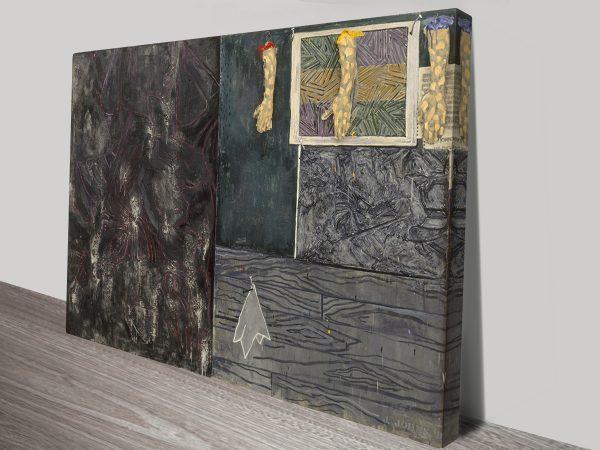 Perilous Night By Jasper Johns Vintage Pop Art