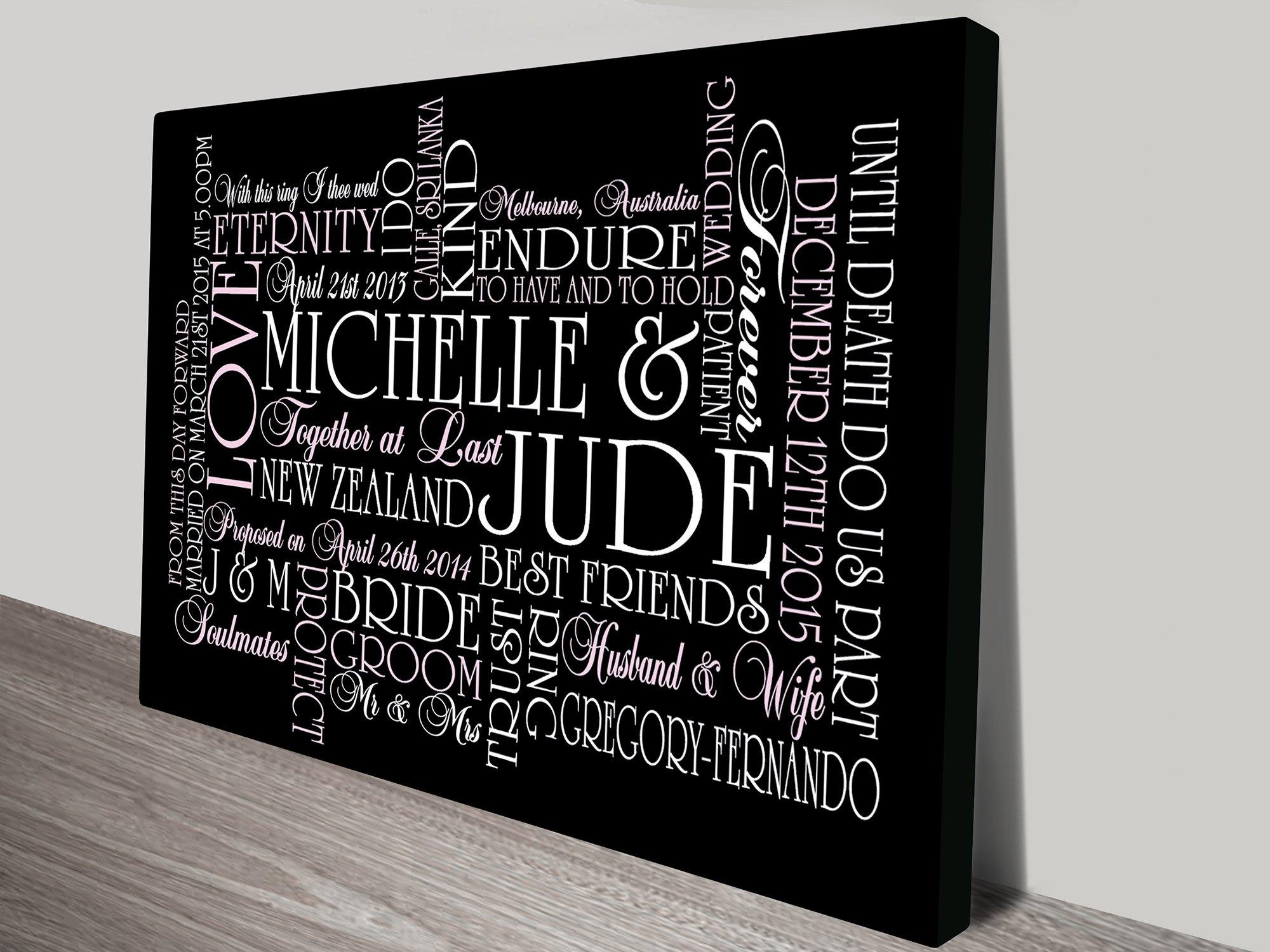 Personalised Art Framed Prints