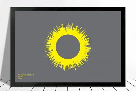 Happy Soundwave Soundwave Art on Canvas