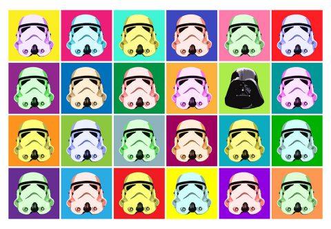 Star Wars Pop Art Posters Fan Art