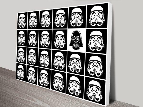 Buy Stormtrooper Pop Art Prints Cheap Online