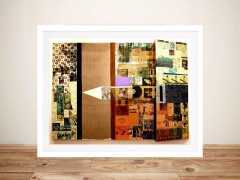 robert rauschenberg Framed Wall Art