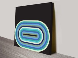 retro geometric hotel canvas wall art 35