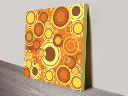 retro geometric canvas wall artwork 37
