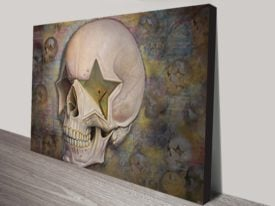 Ron English Skulls Urban Art Print