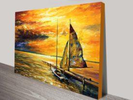 Sailing to the Future buy leonid afremov art print