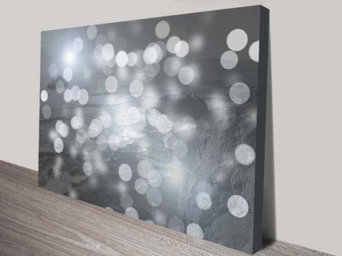 Seas Circles Contemporary Canvas Art