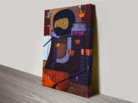 Urban graffiti art print
