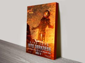 spock star trek into darkness poster print