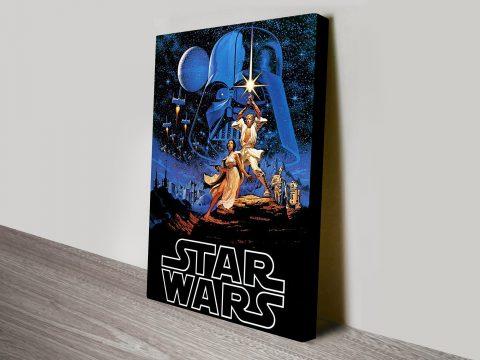 Star Wars Hildebrandt Canvas