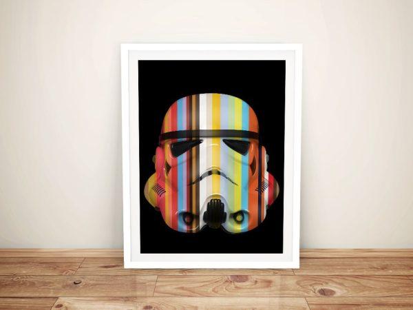 Star Wars Fan Art Framed Prints Melbourne