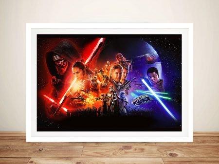 The Force Awakens Star Wars Wall Art
