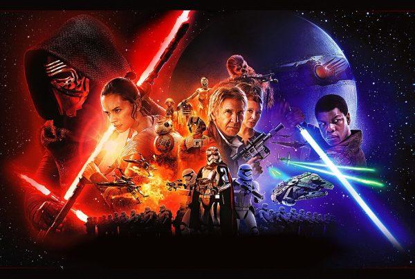star wars force awakens poster Canvas art