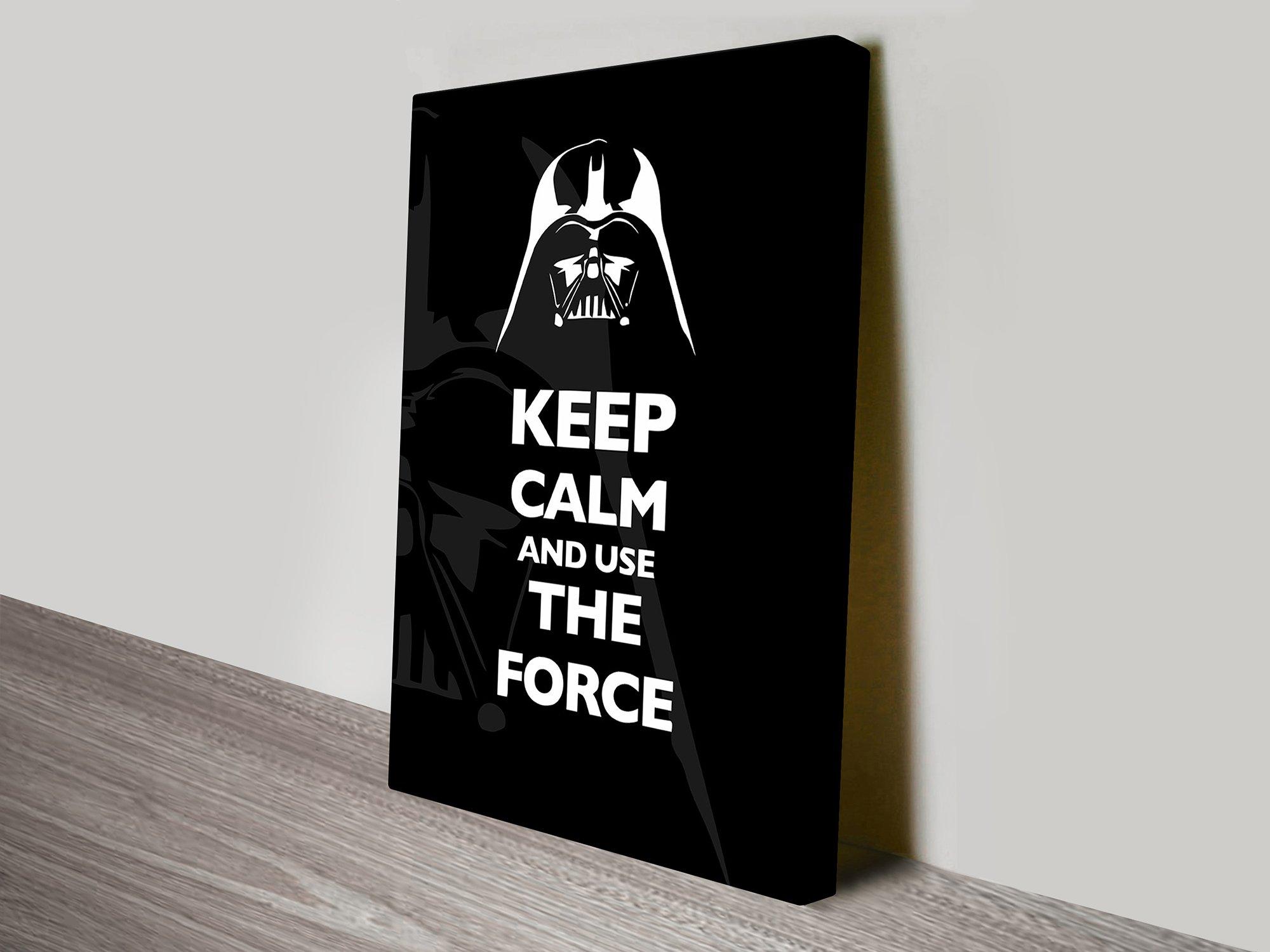Star Wars Keep Calm Wall Art Great Gifts AU