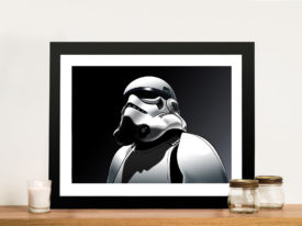 Storm trooper Framed Wall Art
