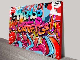 Street Tags Canvas Wall Art