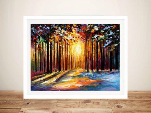 Sun of January Framed Wall Art