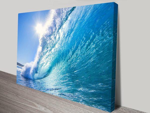 surf wall art australia
