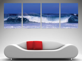 surfing art split canvas prints