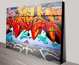 Teresa Street Art Canvas Print