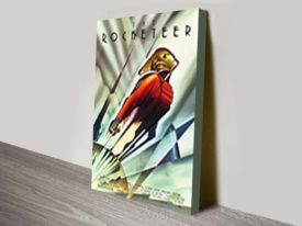 The Rocketeer Movie Poster Canvas Print