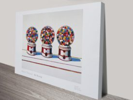 Three Machines Wayne Thiebaud Vintage Pop Art