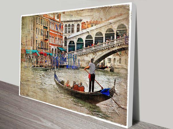 venice painting print art sydney