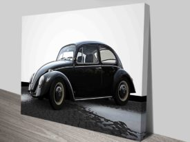 Black and White VW-Beetle Art