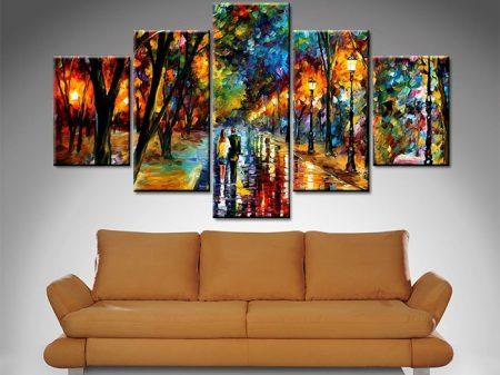 when dreams come true 5 panel wall art print