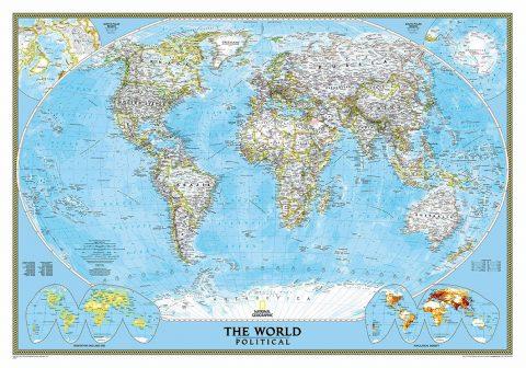 world_political_standard blue_ocean_map_art